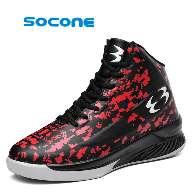 Men s large size sports shoes brand NBA basketball shoes breathable shock shoes  women s basketball shoes e013ca89a