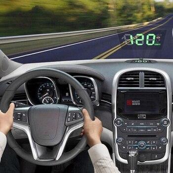 16*12CM GPS Navigation Tools OBD HUD Film Premium Head Up Display Reflective Film Universal Audio Car Stickers Accessories