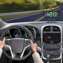 16*12CM OBD HUD 필름 GPS 네비게이션 도구 프리미엄 헤드 업 디스플레이 반사 필름 범용 오디오 자동차 스티커 액세서리