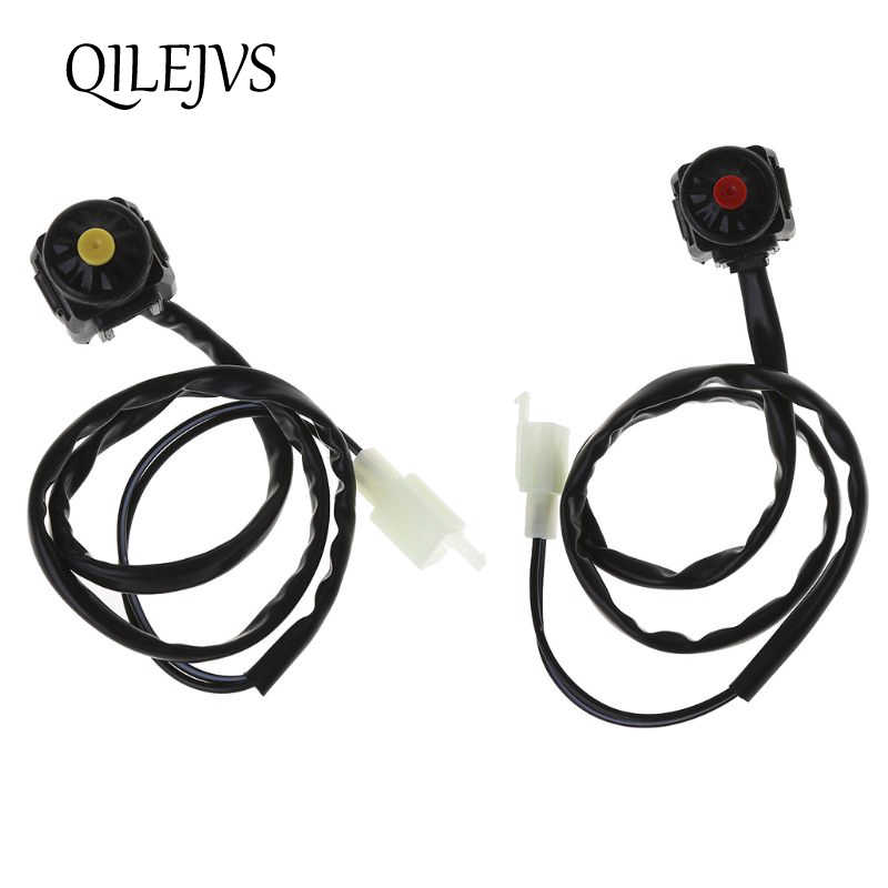 Universal ATV Motorcycle Dual Sport Dirt Quad Start Horn Kill Off Stop Switch Button Motorbike Accessories