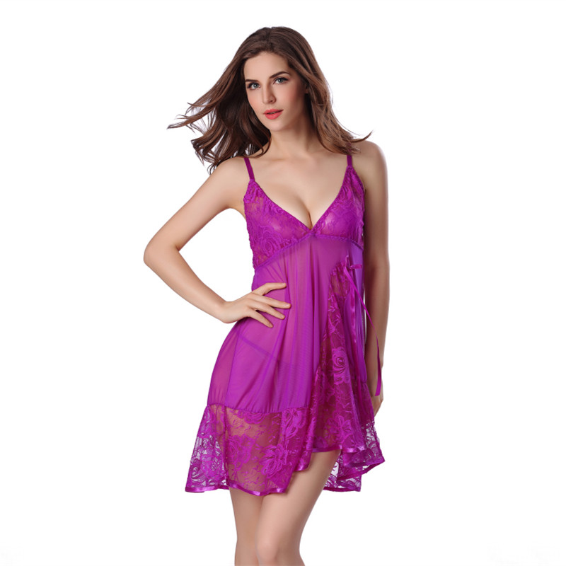 new arrival sexy night gown summer sleeping dress string. Black Bedroom Furniture Sets. Home Design Ideas