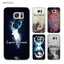 BINYEAE All This Time Always Harry potter Clear Phone Case Cover for Samsung Galaxy S3 S4 S5 Mini S6 S7 S8 Edge Plus(China)
