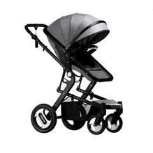 2019 high landscape baby stroller can sit four wheel shock absorber folding two-way bb baby child baby stroller