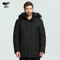HYC Jacket Men Parka Coat Luxury Quality Male Wadded Trench Coats Windbreaker Plus Size Parka Men