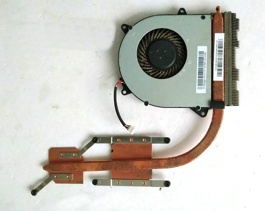 free shipping original for ideapad 110-15IBR cooler fan heatsink test good original vpc eh series cooling heatsink and fan 4xhk1hsn050 udqf2zh91cqu test good free shipping