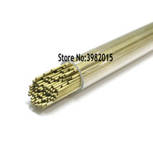 Brass Drilling Electrode Tube OD 0.8*400mm Single Hole for WEDM Drilling Machine