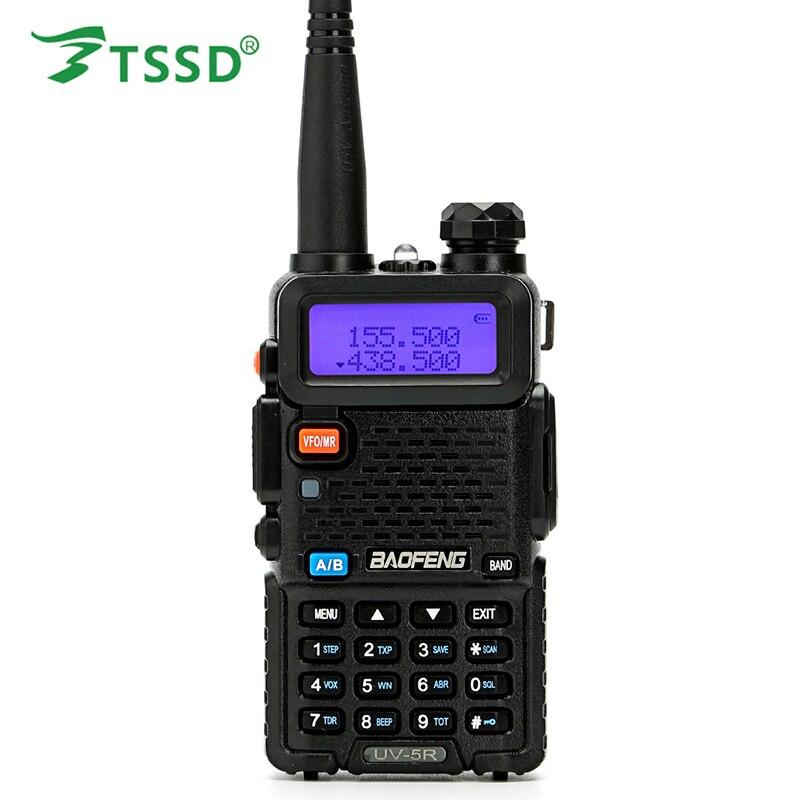 BAOFENG New Dual Band UV-5R Amateur Handheld Two Way Radio UHF/VHF 128 Channels FM Ham Transceiver Free Earpiece