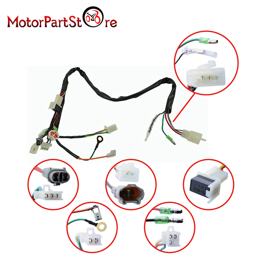 for yamaha pw50 wiring harness ignition switch cdi unit magneto yamaha pw50 wiring harness at Pw50 Wiring Harness