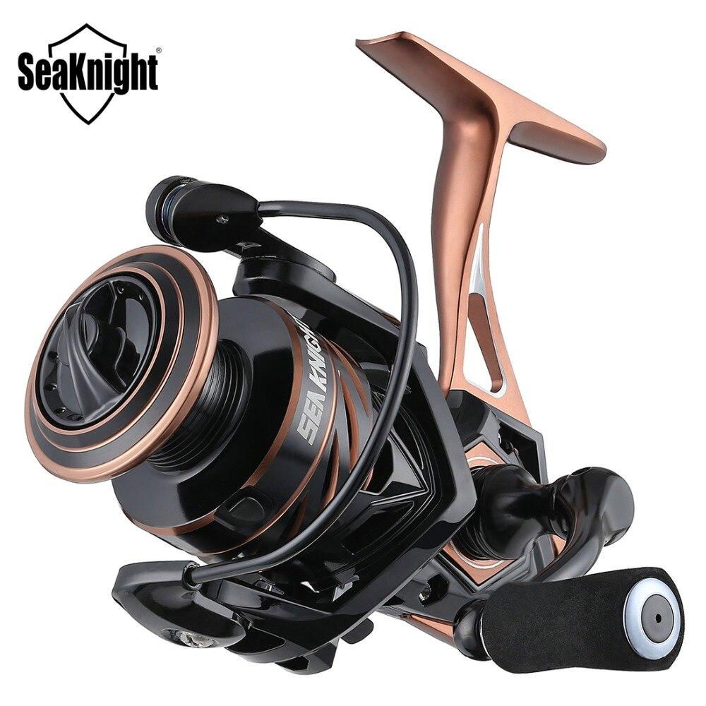 Seaknight Naga Ii 5.21 Spinnewiel Visserij-reel 2500S 2000 3000 4000 5000 Metalen Body Carbon Fiber Slepen 9-15Kg vissen Reel