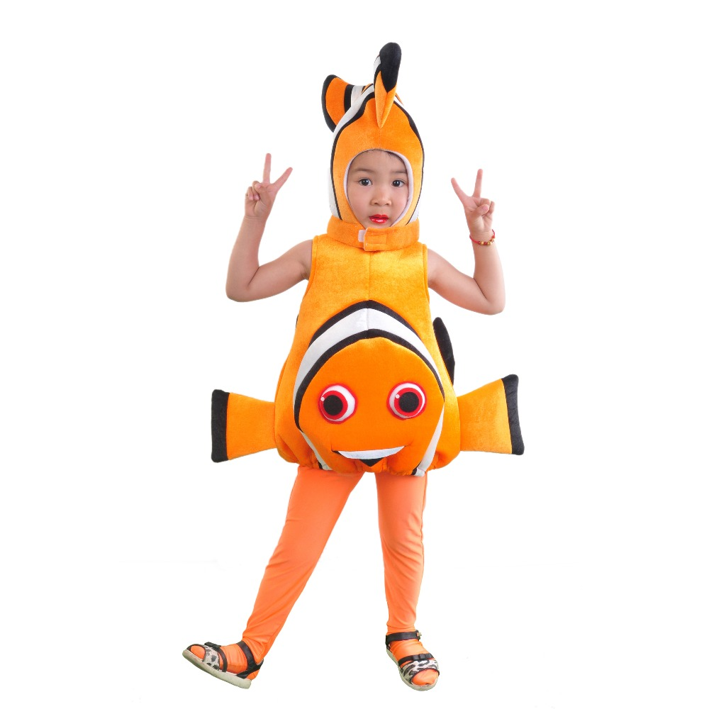 Aliexpress.com : Buy children kid Adult halloween party cosplay clownfish  Finding Nemo blue Finding Dory Dori Toddler fish costume hat clothes vest  from ... - Aliexpress.com : Buy Children Kid Adult Halloween Party Cosplay