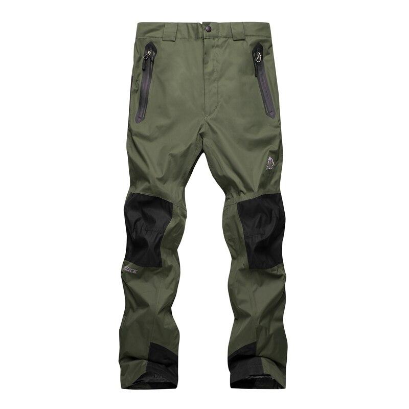 2018 en plein air de ski des nouveaux hommes pantalon chaud épais coupe-vent pantalons imperméables hommes de harnais pantalon d'alpinisme