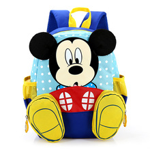 Cartoon Mickey Kindergarten School Bags for Boys New 2017 Children Preschool Backpacks Bowtie Dot Girls Schoolbags