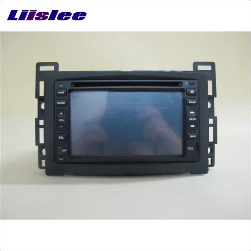 Liislee For Saturn Aura 2006~2009 Car Radio CD DVD Player & GPS Nav Navi Navigation System / Double Din Audio Installation Set