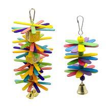PipiFren попугаи игрушки аксессуары из дерева птица поставки буджи окунь качели для игрушки продукт украшение для клетки африканский серый