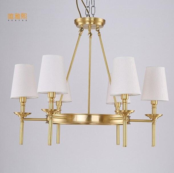 Lustry Veayas LED Lustry Luxusní luxusní lustry Moderní E14 Stropní svítidla Home Hotel Deco