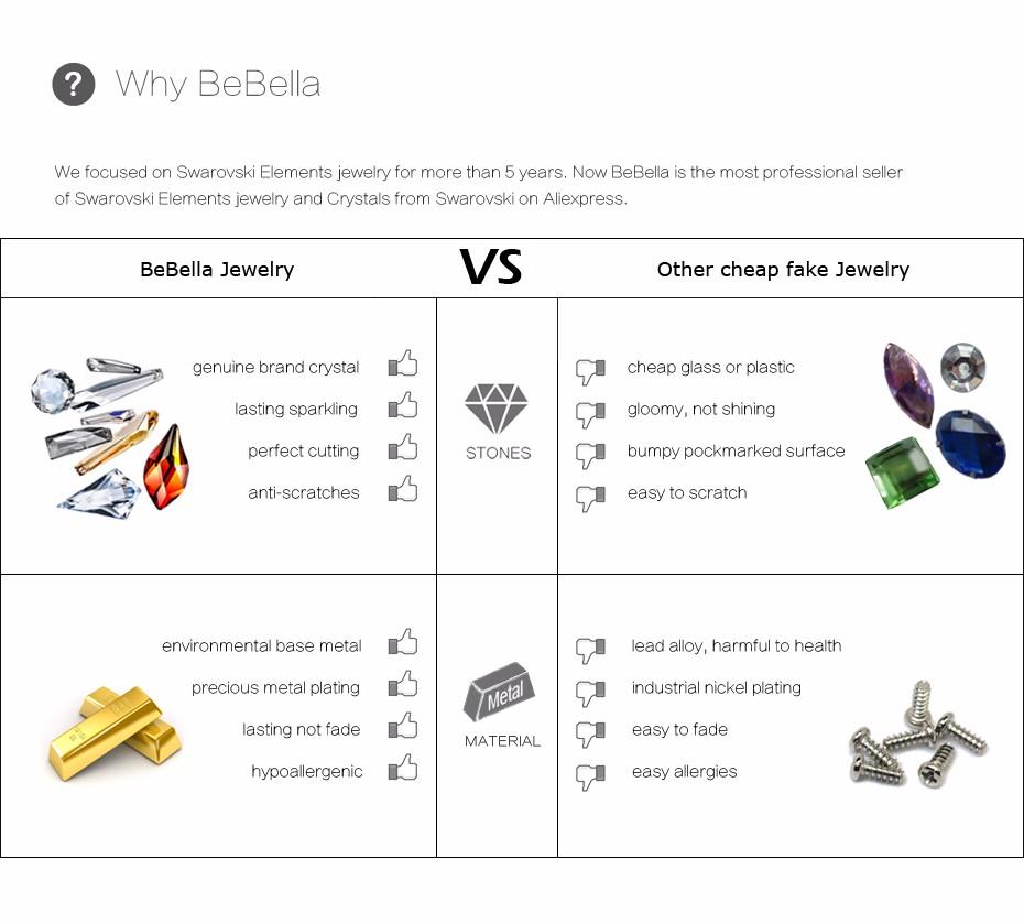 bebella кристалл лиса ожерелье сделано с Австрия кристалл от Сваровски для женщин подарок