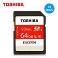 TOSHIBA 32 ГБ 64 ГБ 128 ГБ SD Card SDHC Карты Памяти SDXC Class10 UHS-1 U3 90 М/С Карта Micro Sd Для Цифровой Камеры Видеокамеры Рекордер