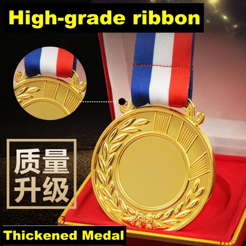 Factory direct 2018 new customized blank medal, spot metal sports medal, runner competition award medal, metal souvenir custom