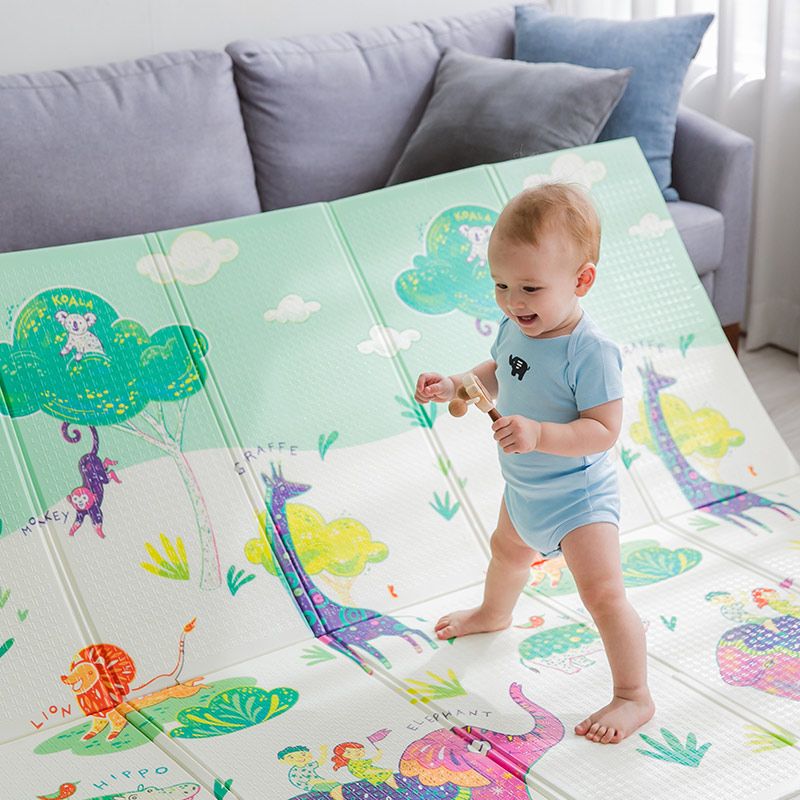 Haute qualité XPE pliable infantile bébé pliant tapis de jeu pliant Puzzle tapis de jeu pour les nourrissons 180x150x0.8cm