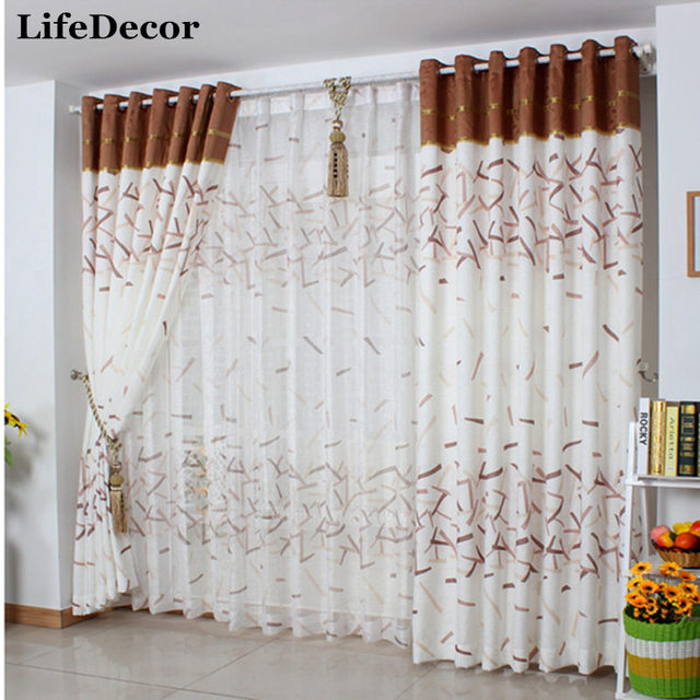 Imagine the future cotton cloth gauze window curtains custom made ...