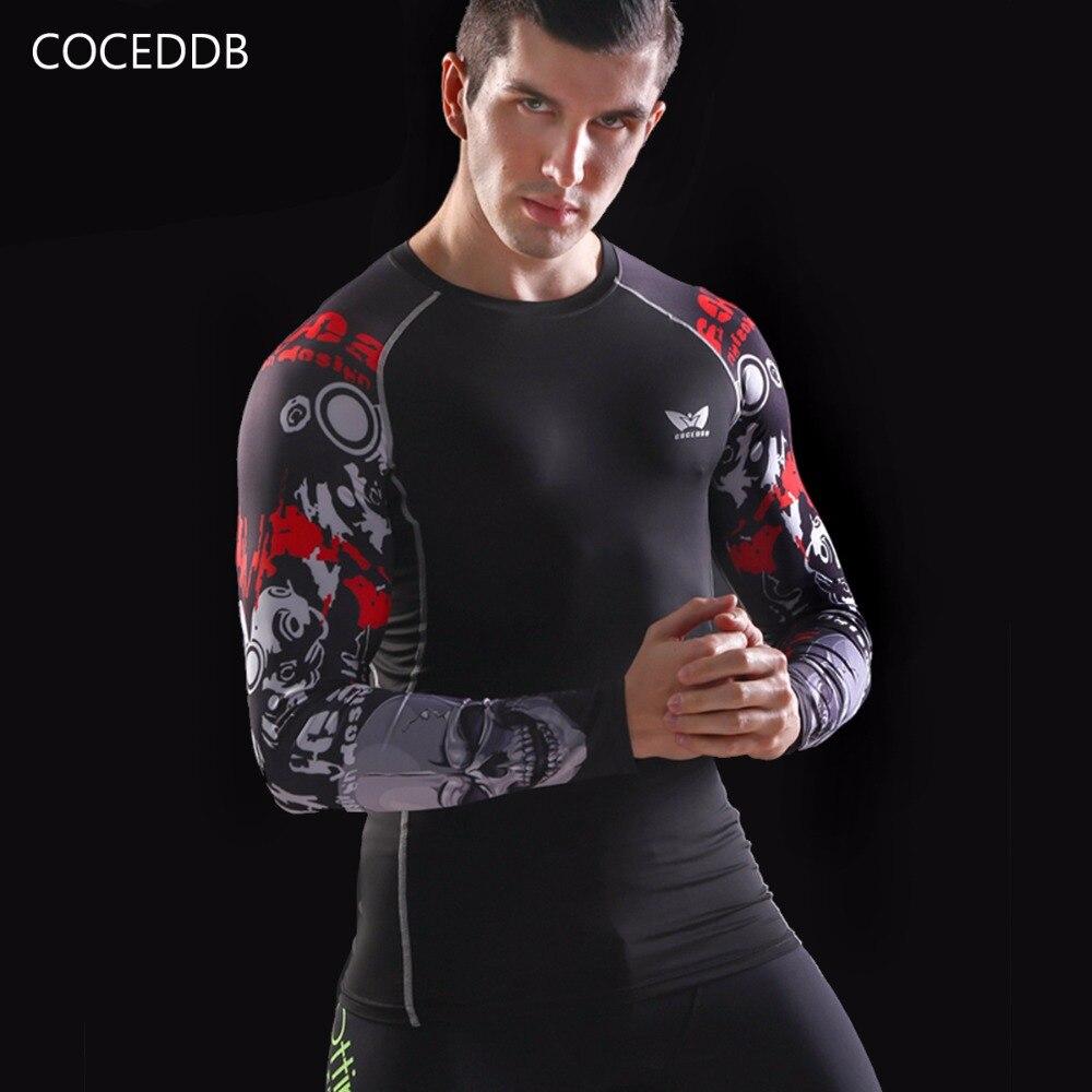 Camisas de compresión para hombre Piel ajustada térmica bajo mangas - Ropa de hombre - foto 4