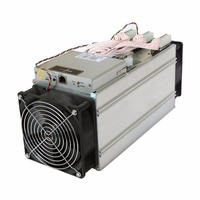 High Power Efficiency AntMiner S9 13.5T Bitcoin Miner 13.5TH/s ASIC BTC Mining Machine with 2pcs 12038 Cooling Fans