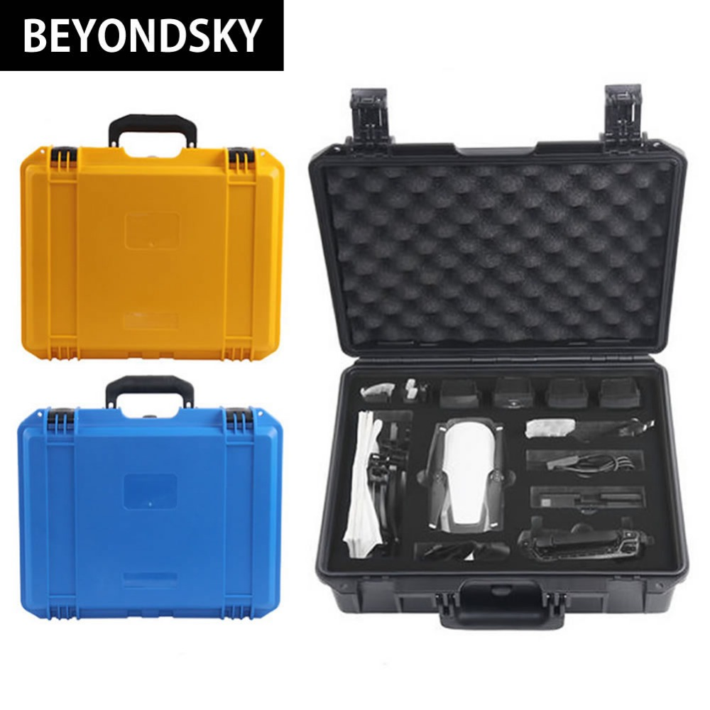 2018 New Listing DJI Mavic Air Quadcopter Accessories Safety Plastic Suitcase Waterproof Shockproof Large Capacity Carrying Case bfm2012 fuel system parts 04282358 0428 2358 fuel lift pump 210b 20917999 fuel feed pump