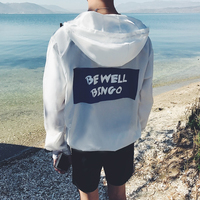 Tideway 18 Spring Summer Comfortable Transparent Motion Travel Printing Youth Jacket Sunscreen Clothes Men Wind Coat