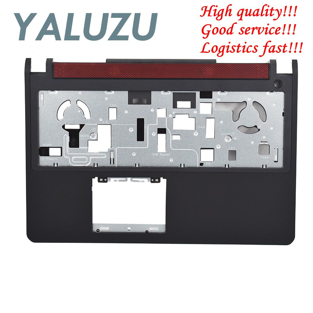 YALUZU new for DELL Inspiron 15 7000 7557 7559 Upper Palmrest Case keyboard bezel cover without touchpad