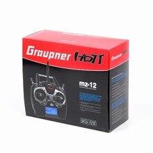Graupner mz-12 6 Channel 2.4GHz HoTT Transmitter GR-12L