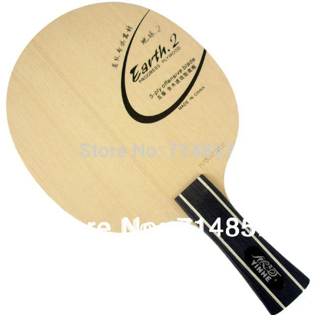Original Yinhe Earth 2 E2 Pure Wood table tennis blade for table tennis racket