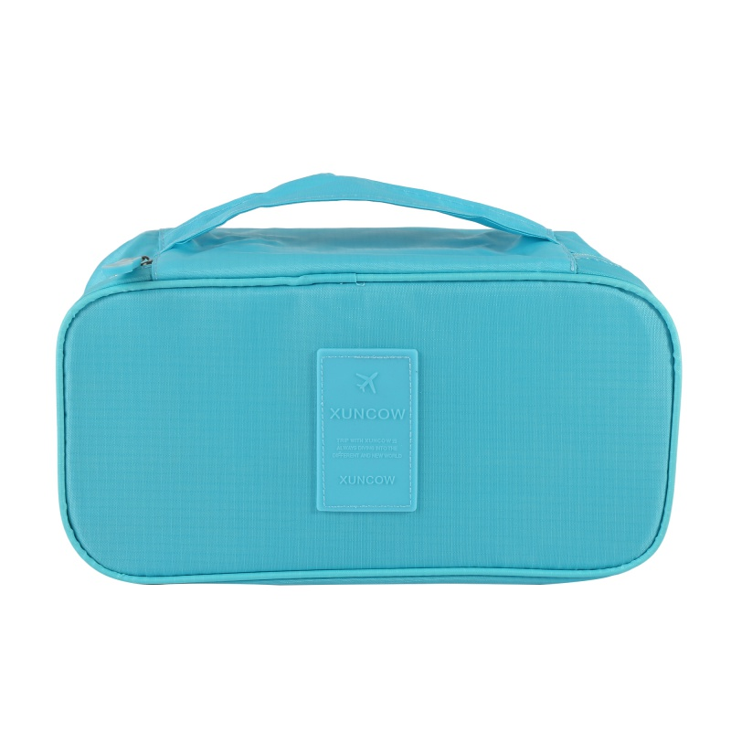 Hot Sales Solid Waterproof Travel Bags Nylon Travel Cosmetic Bag Toothbrush Pouch Toilet ...
