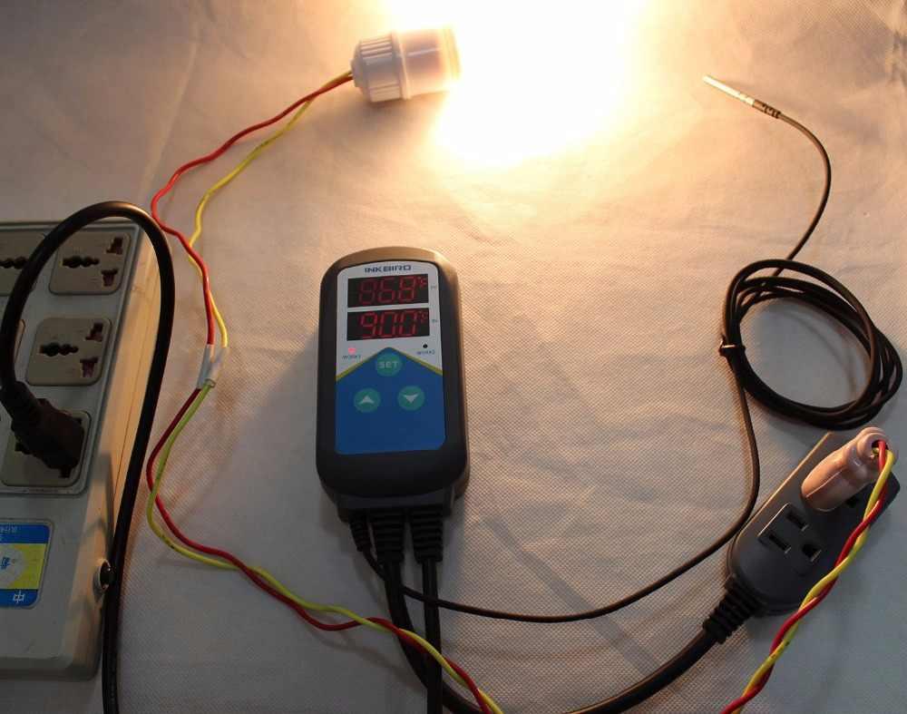 Inkbird ITC-306T Pre-wired Temperatur Controller Thermostat Heizung Ohne Kühlung Steuerung Für aquarium Carboy Homebrewing