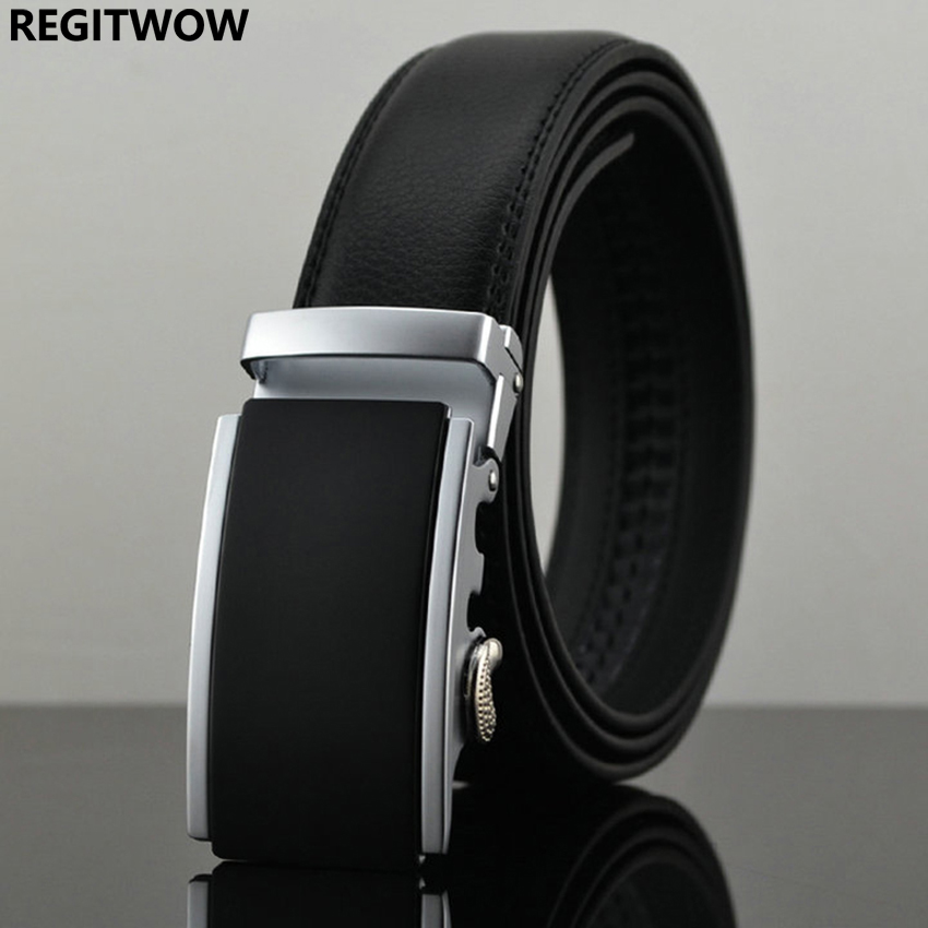 Belt New Designer Automatic Buckle Cowhis