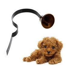 1Pc Metal Dog Potty Training Doorbell For Housebreaking Housetraining Loud Bells Guide New
