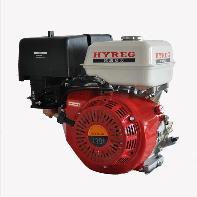 170f 7.5hp 단일 실린더 4 스트로크 가솔린 엔진 헤드 펌프 싸움 마약 충격 정원 기계/가솔린 엔진 헤드