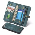 Многофункциональный 3 в 1 Бумажник Телефон Случае для iPhone 7, натуральная Кожа Деньги Кошелек Карты Держатель Телефона стенд 4 цветов