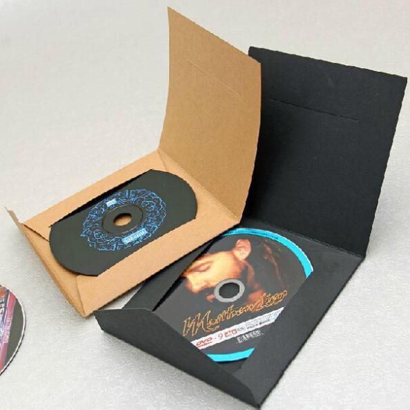 155*155*28 cm High Quality Disc CD Sleeve Thick Kraft CD DVD