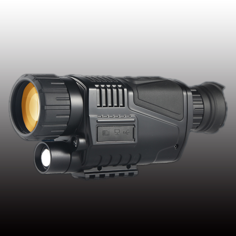 ZIYOUHU 5 x 40 Digital Infrared Powerful HD Night Vision Scope Tactical Viewing for Hunting Monocular
