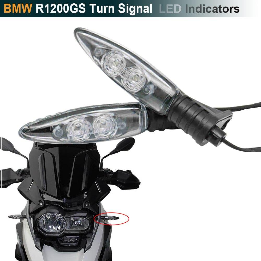 For BMW R1200GS adv blinker Motorcycle Turn Signal LED Indicators For BMW F650GS R1200R S1000RR F800GS F800R K1300S G450X F800ST s1000rr turn led lights