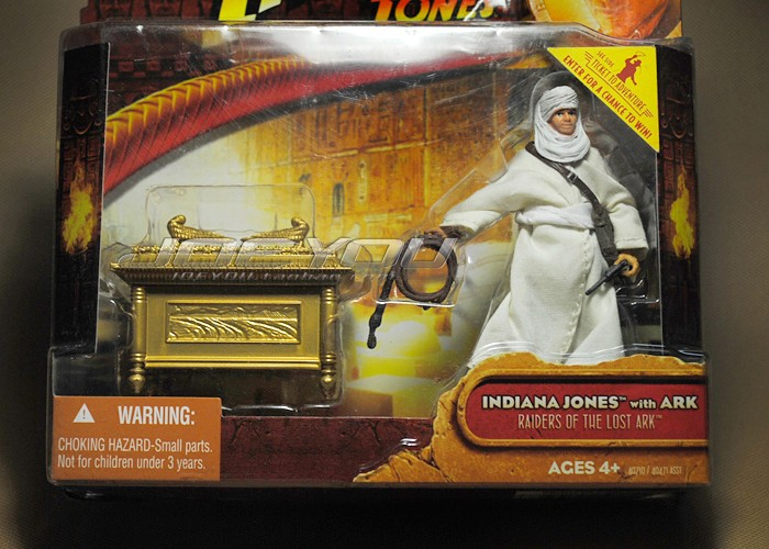 Limited! 10CM High Classic Toy Raiders of the Lost Ark Indiana Jones and ark action figure Toys