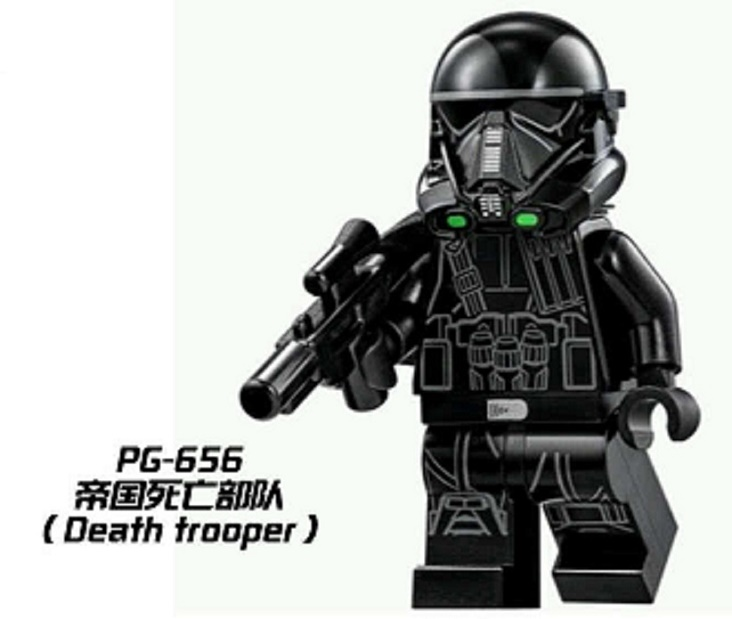Single Sale Building Blocks Super Heroes Imperial Death Trooper Star Wars Bricks Action Collection Toys for children Gift PG656 1pc imperial death trooper rogue one 75156 diy figures star wars superheroes assemble building blocks kids diy toys xmas