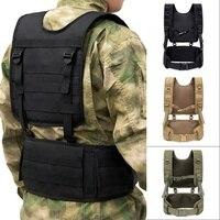 Military Tactical Vest Chest Rig MOLLE Combat Waist Belt Men Army Cummerbunds Airsoft Paintball Equipment Outdoor Hunting Vest