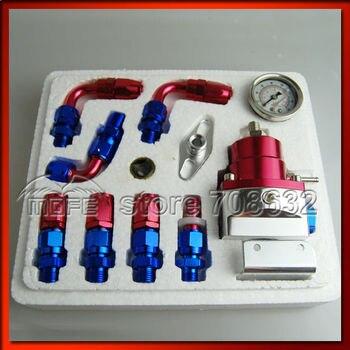 Специальное предложение регулируется FPR Алюминий топлива Давление регулятор с белым Gauge диапазон: 0-160 фунтов/кв. дюйм/0-11 бар >> MOFE High Quality Performance parts Store