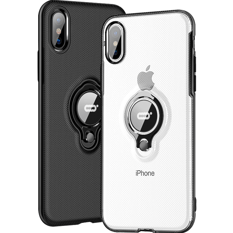 Luxury Car Holder Ring Case For IPhone X XR XS Max 8 7 Phone Case Cover On The For IPhone 7 8 Plus XS XR XS Max Case Cover