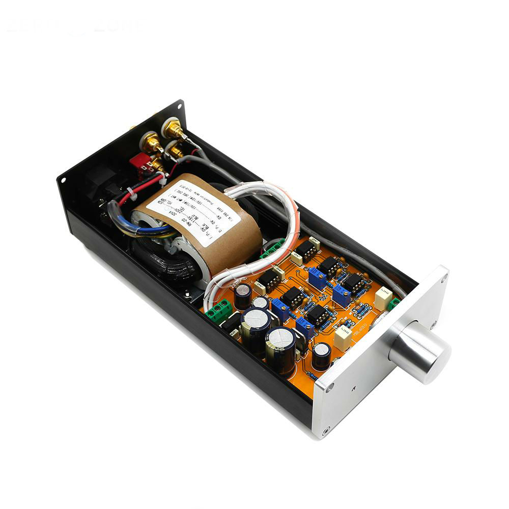 Free ship Finished Hifi 6010 Preamplifier Base On MBL6010D Preamp 115V or 230V free ship 10