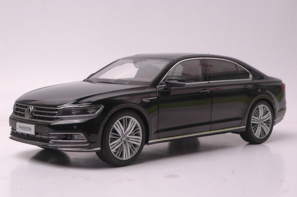 1:18 Diecast Model for Volkswagen VW Phideon 2016 Black Alloy Toy Car Collection Gifts 1 43 germany pcls vw t3 van model alloy favorites model