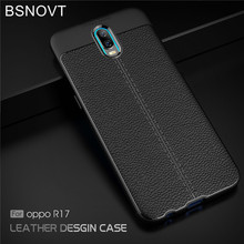 For OPPO R17 Case Soft Silicone TPU Leather Bumper Anti-knock Phone Cover Funda 6.4 inch BSNOVT
