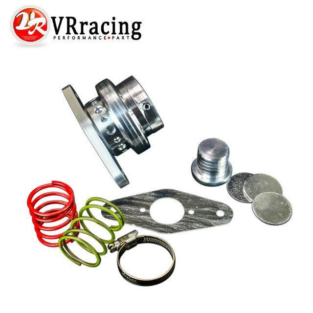 VR RACING - NEW BOV Aluminum turbo dump valve for Subaru 08+ WRX Legacy Mazdaspeed 3 blow off valve VR5792 клапанный механизм vr 50 bov 50 vband pqy5724