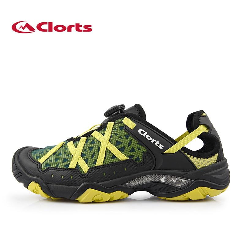 ФОТО Clorts Aqua Shoes BOA Fast Lacing Summer Men's Outdoor Water Shoes Breathable Beach Aqua Shoes Quick-Dry Upstream Shoes 3H017A/D